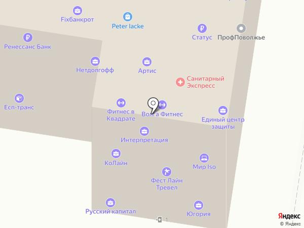Тендер-Профи на карте