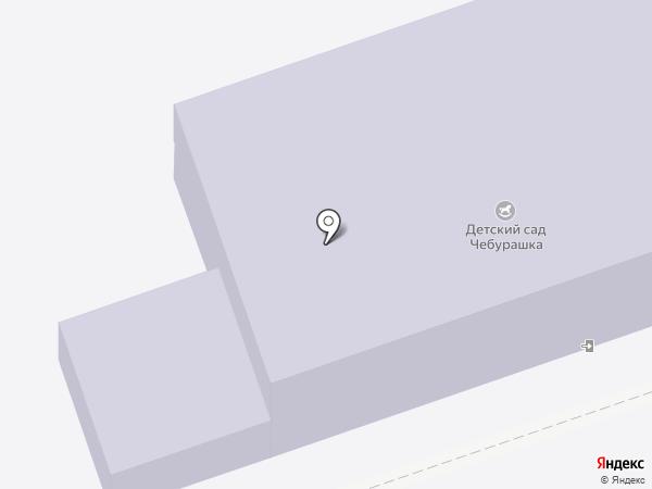 Чебурашка на карте
