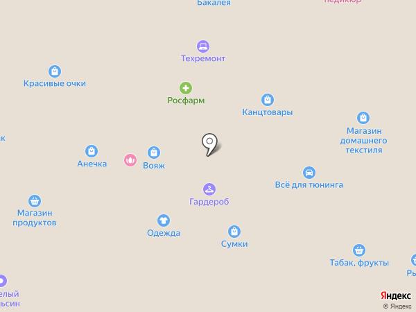 Вобла на карте