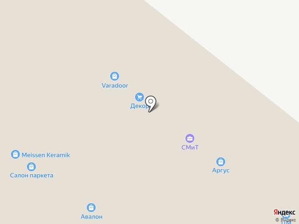 Салон паркета на карте