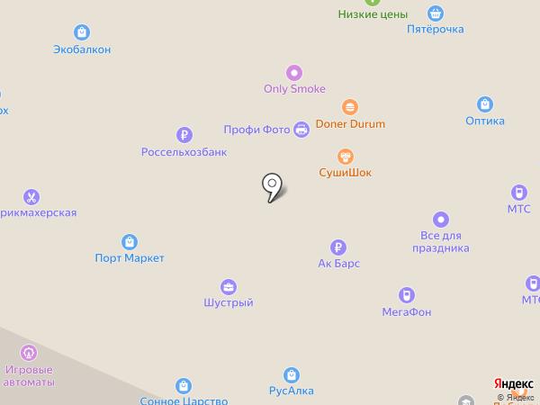 Старк+ на карте