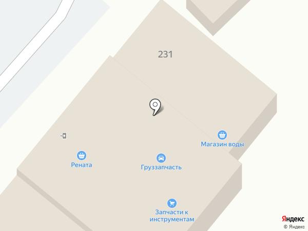 Магазин автозапчастей на Большой Красной на карте