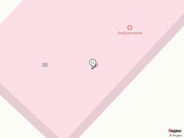 Амбулатория с. Бахта на карте