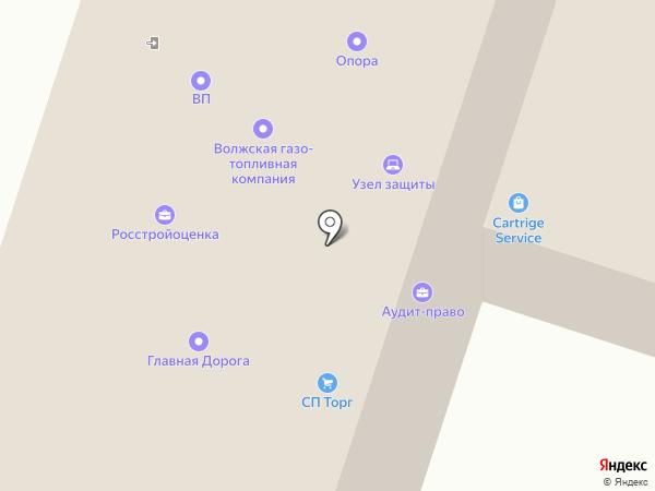 Cartridge-service на карте
