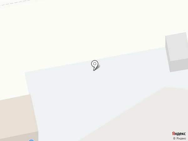 Ночная автостоянка на карте