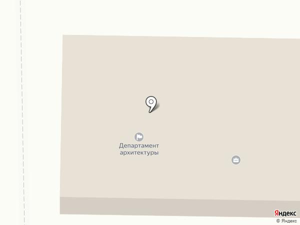 Отдел градостроительства на карте
