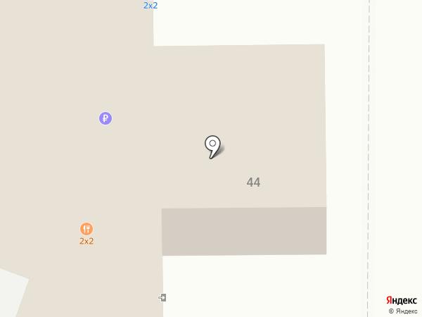 2х2 на карте