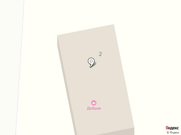 Добрая на карте