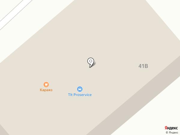Караяз на карте