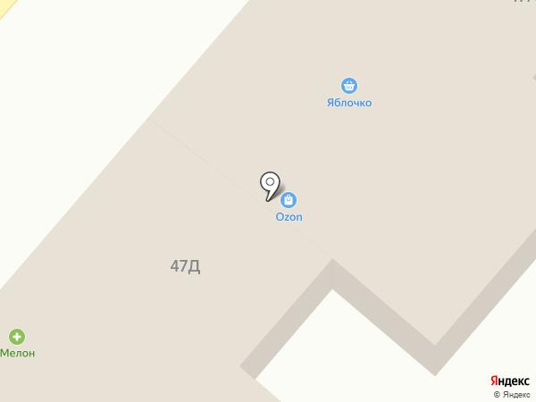 Елисеич на карте