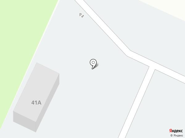 Автостоянка на Морквашинской на карте