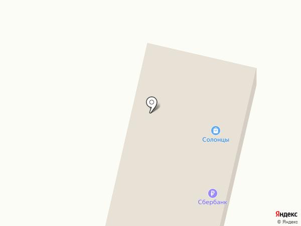 Солонцы на карте