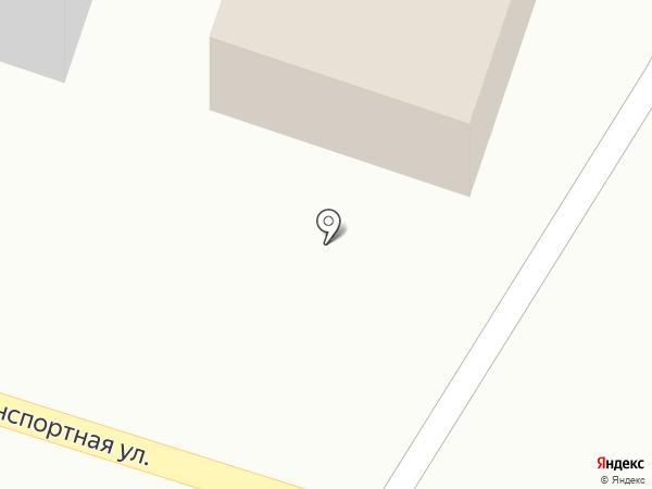 Автомойка на Транспортной на карте
