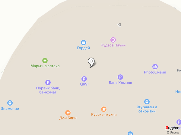 Сладкий остров на карте