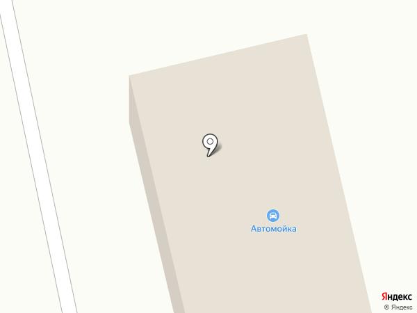 Грузовая автомойка в Зеленовке на карте