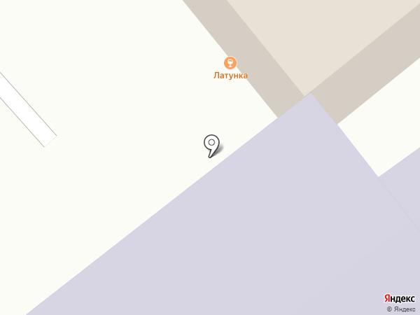 Латунка на карте
