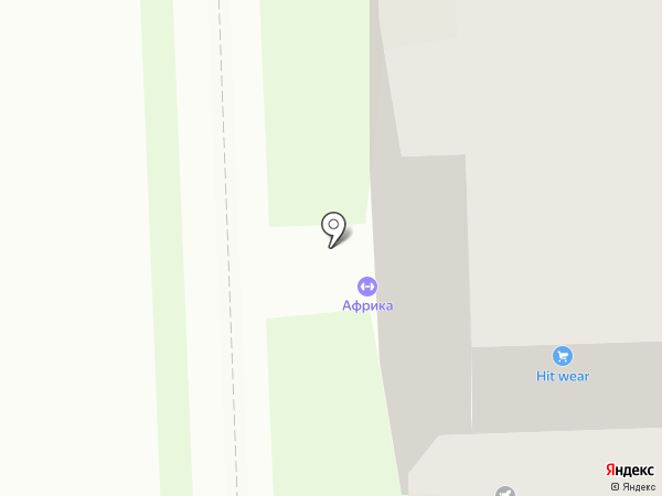 Солнечный городок на карте
