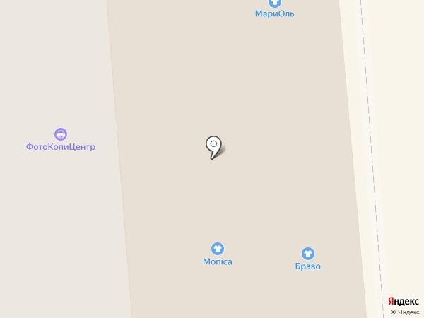 Метелица на карте