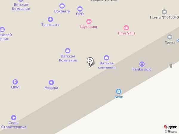 Русшина-Киров на карте