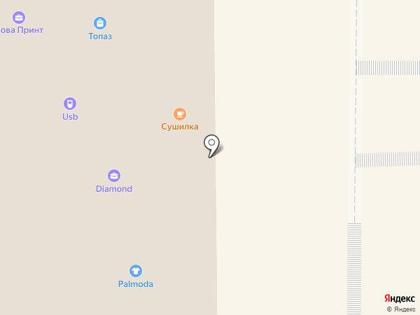Морошка на карте
