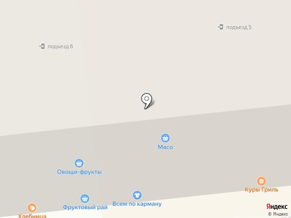Радуга-М на карте