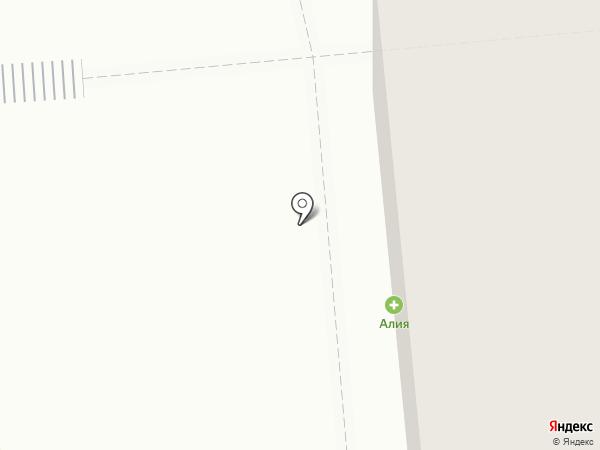 Алия на карте