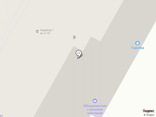 Торгово-монтажная компания на карте