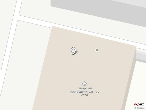 Самарские распределительные сети на карте