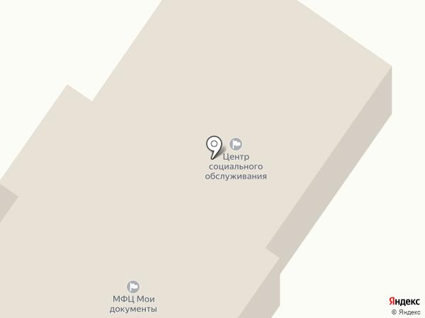 Центр социального обслуживания граждан пожилого возраста и инвалидов, ГБУ на карте