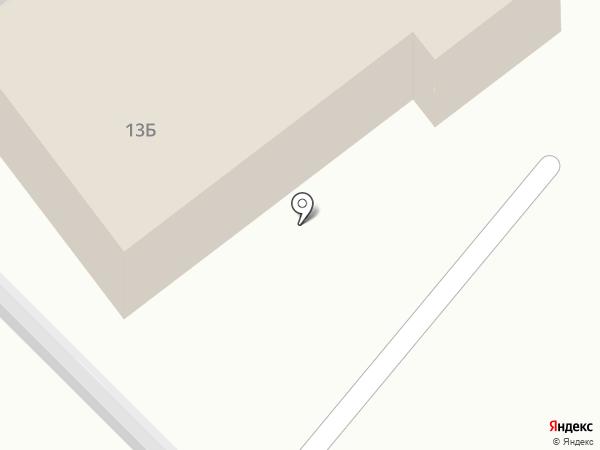 Пожарная часть №127 на карте