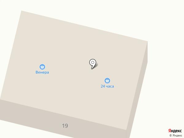 Венера на карте