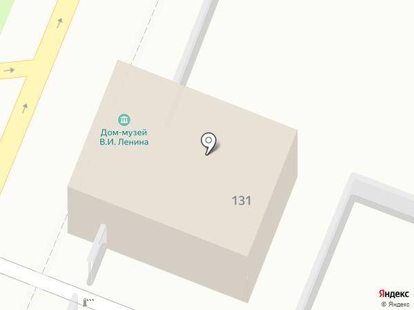 Дом-музей В.И. Ленина на карте