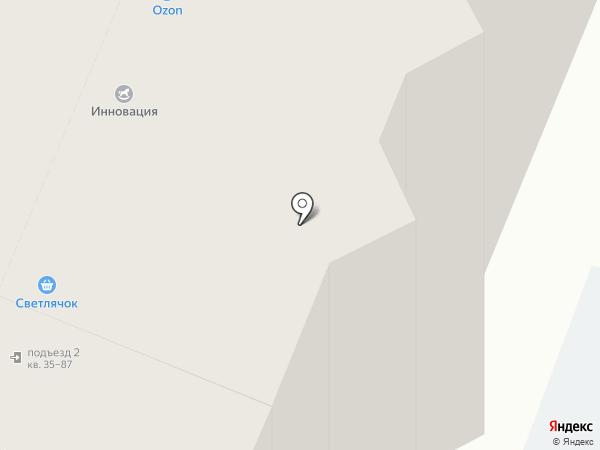 Территория детства на карте