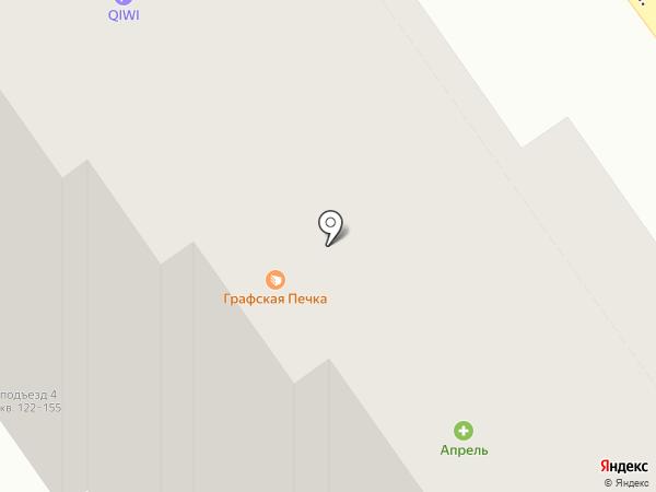Графская Печка на карте