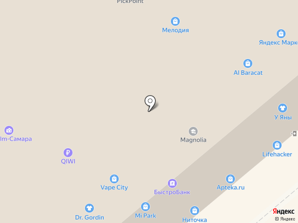 Магазин гобеленов и подарков на карте