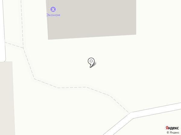 Парикмахерская эконом-класса на карте