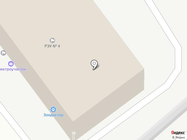 Аварийно-диспетчерская служба на карте