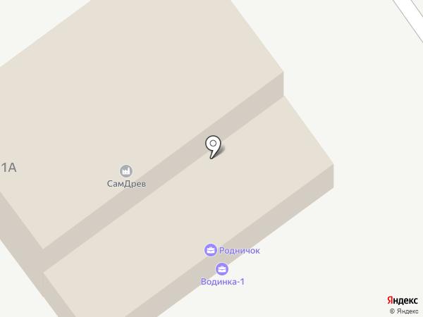СамДрев на карте
