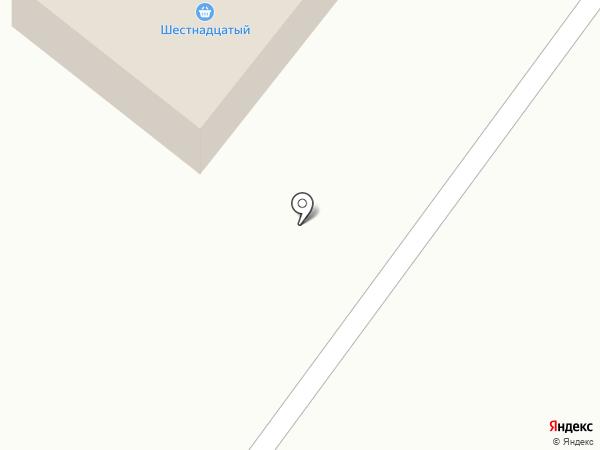 Шестнадцатый на карте