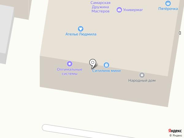 Реал связь на карте