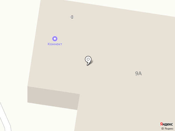 Коннект на карте