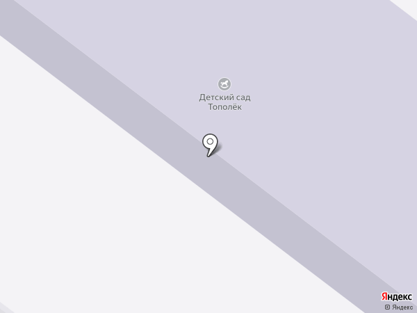 Тополек на карте