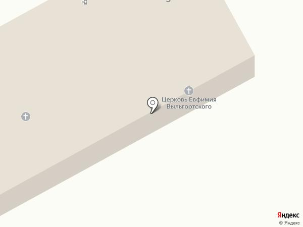Молитвенный дом православного прихода в честь новомученика Евфимия на карте