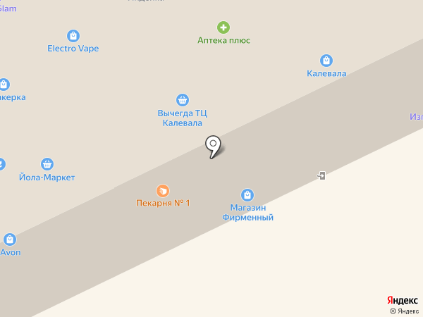 Best brend на карте