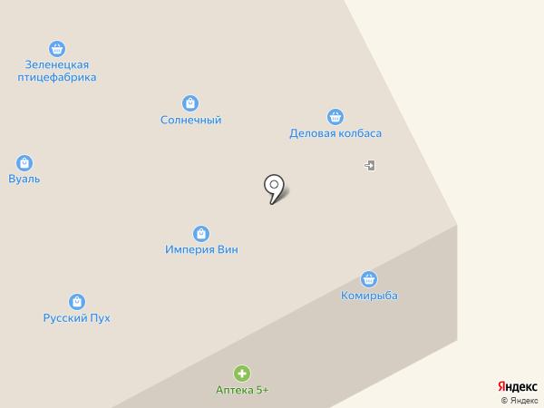 Магазин продовольственных товаров на карте