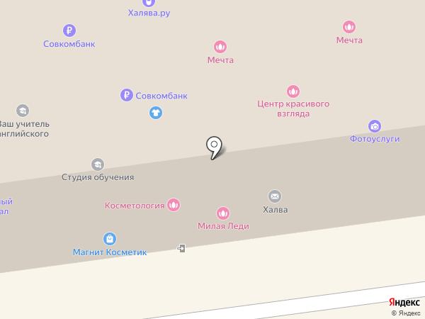 Кард-Инфо на карте