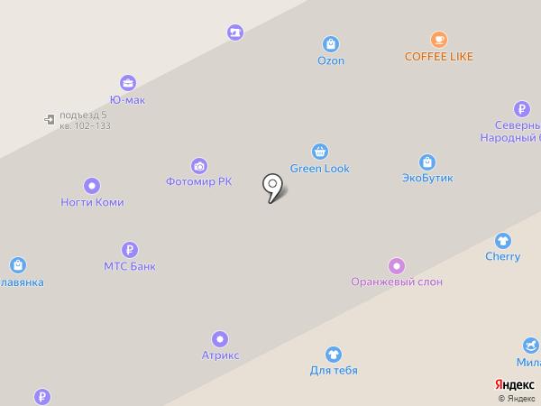 LiLi на карте