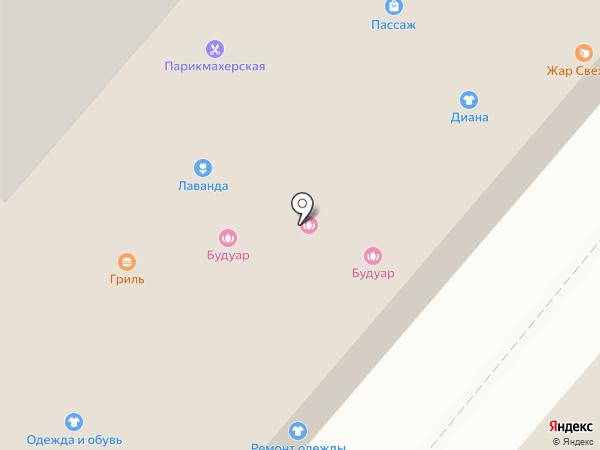 Магазин свежей курицы на карте