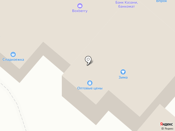 Магазин разливных духов на ул. Бызова на карте