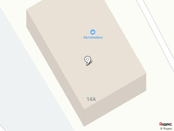 Авто М на карте